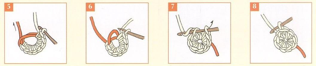 Как вязать кольцо амигуруми?