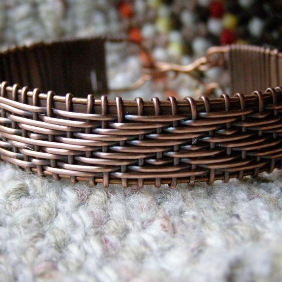 Кручение проволоки или Wire wrap браслет