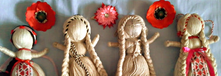Какие бывают куклы-мотанки?