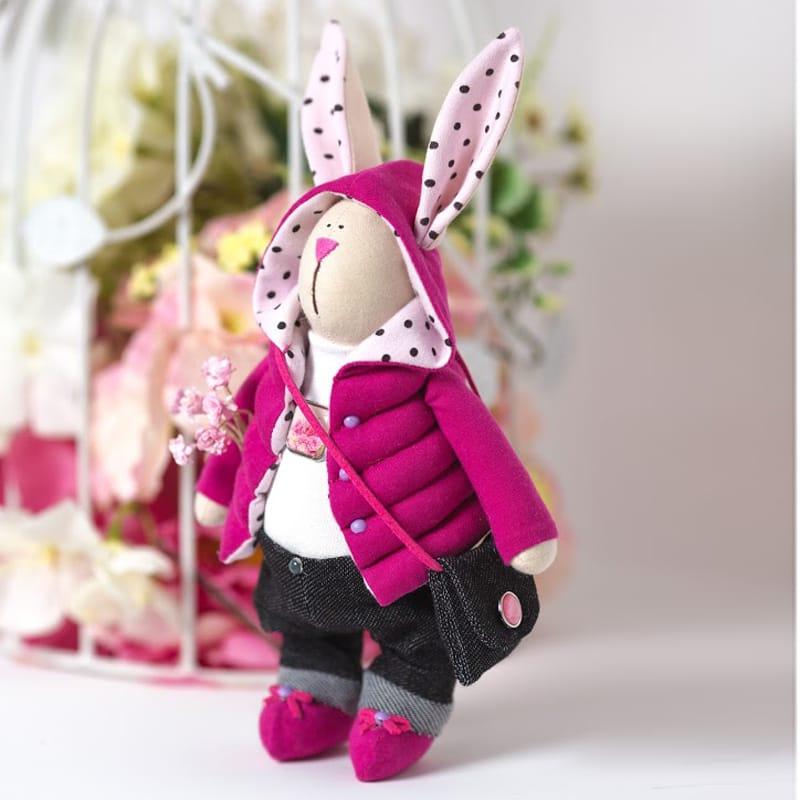 Кукла-тильда заяц. Как сделать интерьерную куклу своими руками