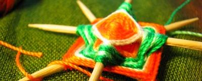 Что представляет собой процесс плетения мандалы?