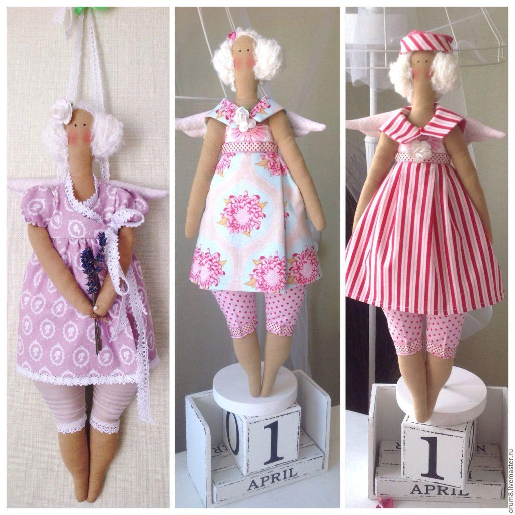 Кукла-тильда. Как сделать интерьерную куклу своими руками