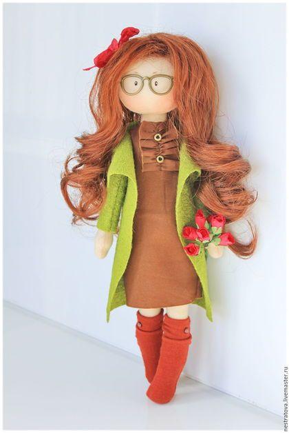 Как сделать интерьерную куклу своими руками