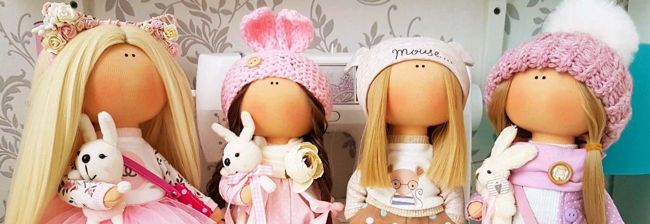 Как шить интерьерную куклу