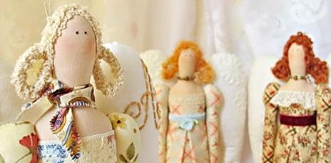 Изготовление куклы тильды