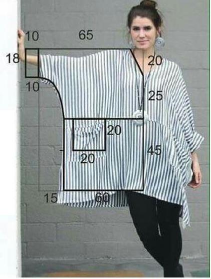 Основы кройки и шитья. Рубаха