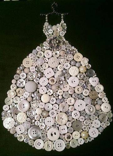 Декорирование пуговицами