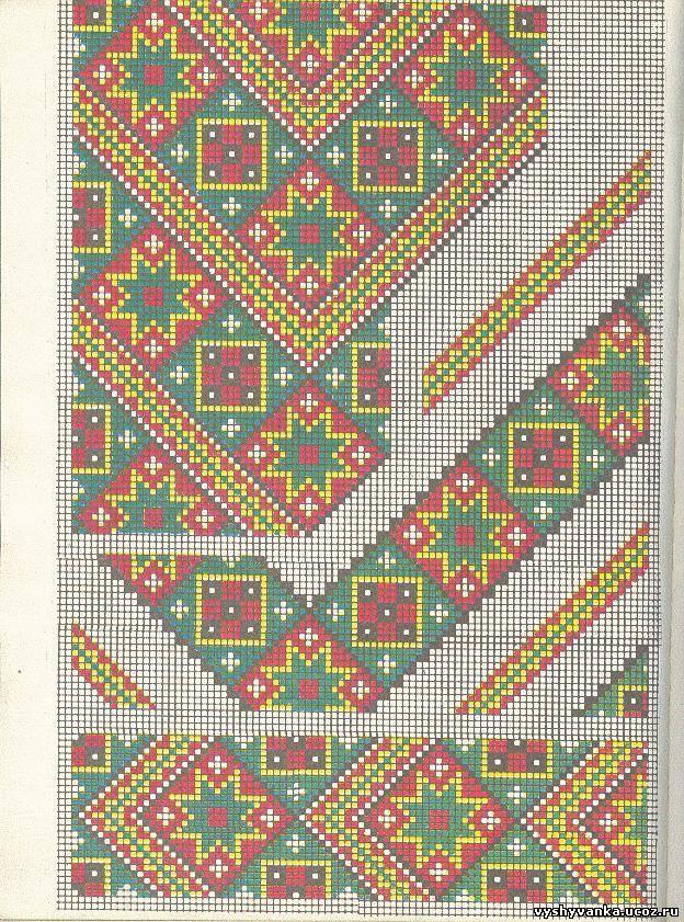 Славянская обережная вышивка