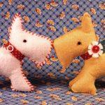 Мастер-класс игрушки из фетра «Забавный щенок»