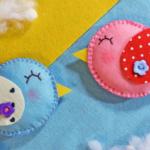 Мастер-класс игрушки из фетра «Птичка-невеличка»