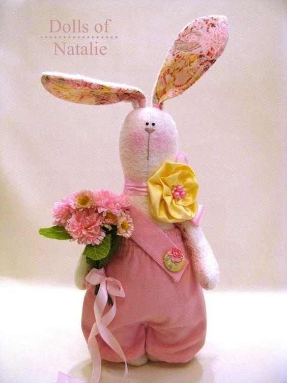 Кукла Тильда заяц