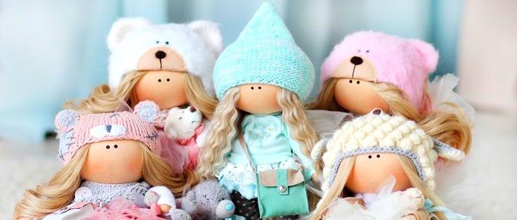 Самодельные куклы из ткани