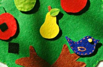 Мастер-класс игрушки из фетра «Мягкие счеты»