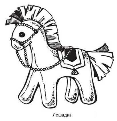 Список материалов на мастер-класс игрушки из фетра «Лошадка»