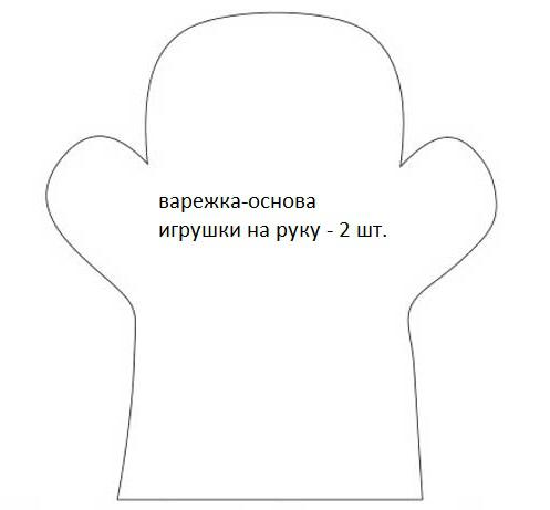 Мастер-класс игрушки из фетра «Развивающая и на руку» выкройка