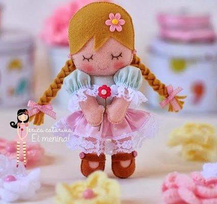 Как сделать куклу из фетра