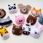 Мастер-класс игрушки из фетра «Необычные зверушки»