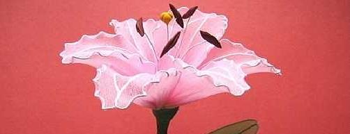 лилия из капрона